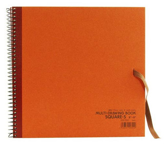 Holbein Drawing Pad 8x8 Rust