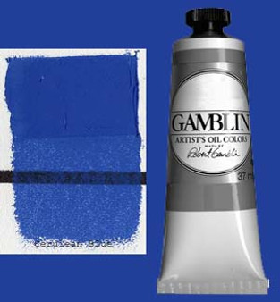 Gamblin Artists Oil Color 37ml Series 6: Cerulean Blue