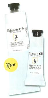 Jack Richeson Oil Paint 5oz Transparent Marble White