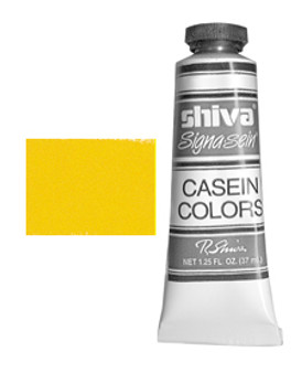 Shiva Signa-Sein Casein Series 4: 37ml Cadmium Yellow Medium