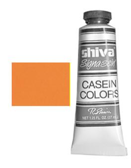 Shiva Signa-Sein Casein Series 4: 37ml Cadmium Orange