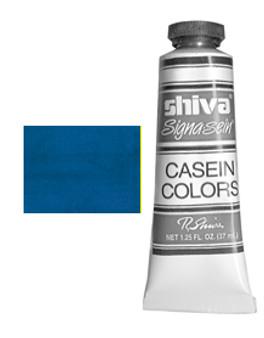 Shiva Signa-Sein Casein Series 1: 37ml Permasol Blue
