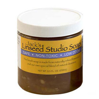 Jacks Linseed Studio Soap By Jack Richeson 4oz