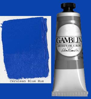 Gamblin Artists Oil Color 37ml Series 2: Cerulean Blue Hue
