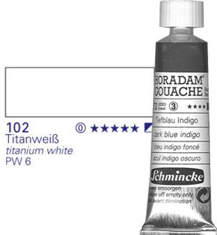 Schmincke Horadam Gouache 15ml Titanium White