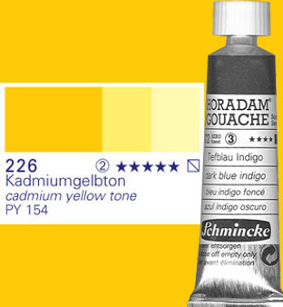 Schmincke Horadam Gouache 15ml Cadmium Yellow Tone