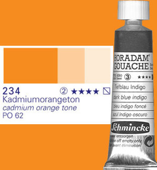 Schmincke Horadam Gouache 15ml Cadmium Orange Tone