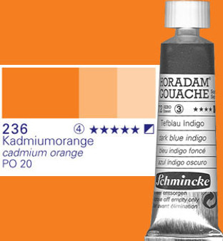 Schmincke Horadam Gouache 15ml Cadmium Orange