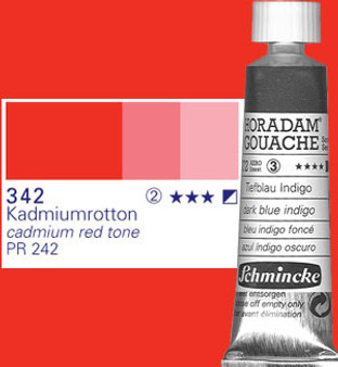 Schmincke Horadam Gouache 15ml Cadmium Red Tone