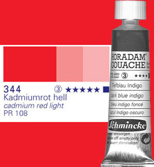 Schmincke Horadam Gouache 15ml Cadmium Red Light