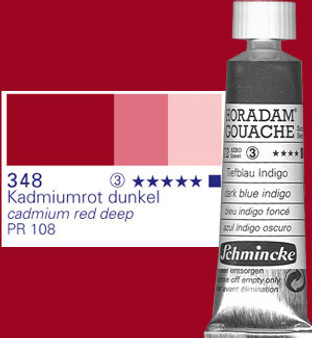 Schmincke Horadam Gouache 15ml Cadmium Red Deep