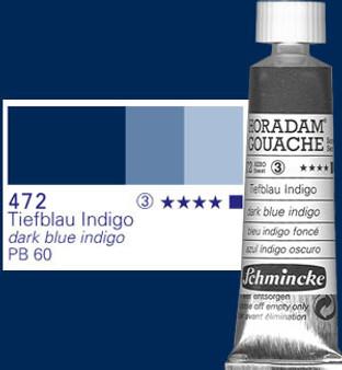 Schmincke Horadam Gouache 15ml Dark Blue Indigo
