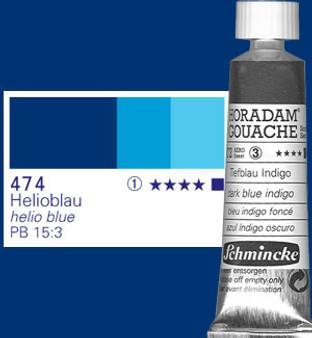 Schmincke Horadam Gouache 15ml Helio Blue