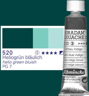 Schmincke Horadam Gouache 15ml Helio Green Blue