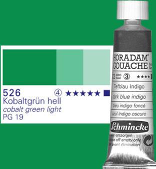 Schmincke Horadam Gouache 15ml Cobalt Green Light