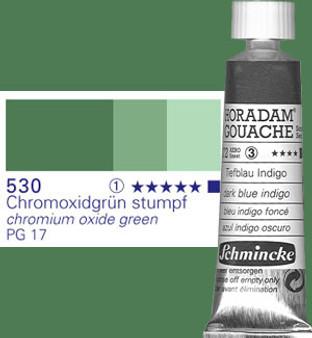 Schmincke Horadam Gouache 15ml Chromium Oxide Green
