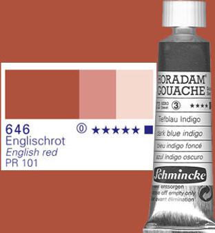 Schmincke Horadam Gouache 15ml English Red