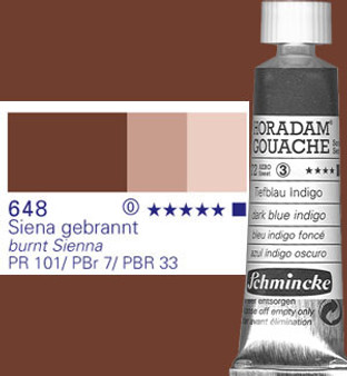Schmincke Horadam Gouache 15ml Burnt Sienna