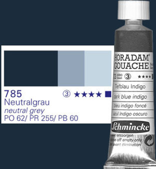 Schmincke Horadam Gouache 15ml Neutral Grey