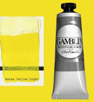 Gamblin Artists Oil Color 37ml Series 3: Hansa Yellow Light