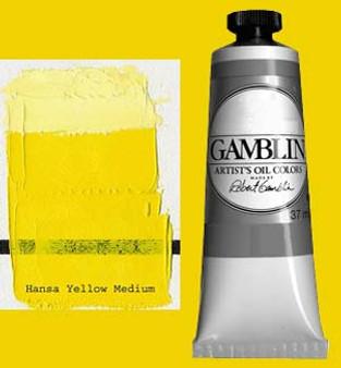 Gamblin Artists Oil Color 37ml Series 3: Hansa Yellow Medium