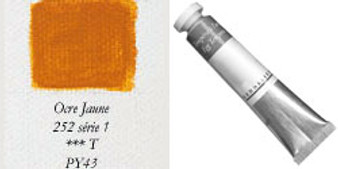 Sennelier Egg Tempera 21ml Series 1: Yellow Ochre