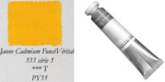 Sennelier Egg Tempera 21ml Series 5: Cadmium Yellow Deep