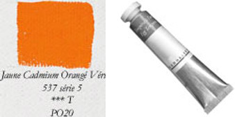 Sennelier Egg Tempera 21ml Series 5: Cadmium Yellow/Orange