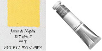 Sennelier Egg Tempera 21ml Series 2: Naples Yellow