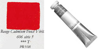 Sennelier Egg Tempera 21ml Series 5: Cadmium Red Deep