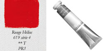 Sennelier Egg Tempera 21ml Series 4: Permanent Interference Red