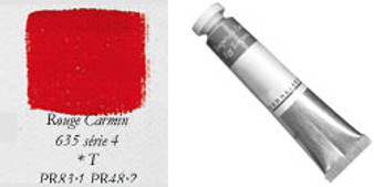 Sennelier Egg Tempera 21ml Series 4: Carmine Red