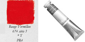 Sennelier Egg Tempera 21ml Series 3: Vermillion Red