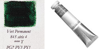 Sennelier Egg Tempera 21ml Series 4: Permanent Green