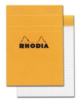 Rhodia Classic Stapled Topbound 4x6 Grid