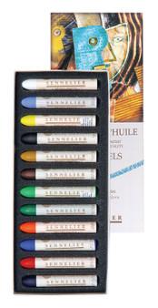 Sennelier Oil Pastel Set 12 Intro Colors