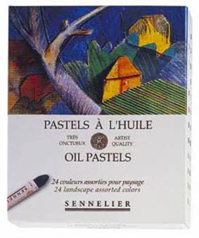 Sennelier Oil Pastel Set 24 Landscape