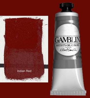 Gamblin Artists Oil Color 37ml Series 1: India Red