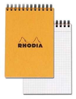 Rhodia Wire Topbound 4x6 Grid