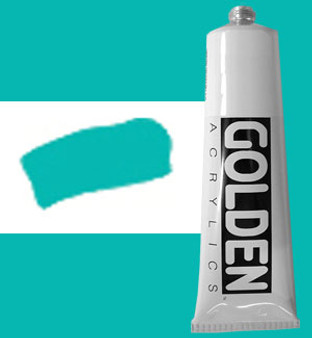 Golden Artist Colors Heavy Body Acrylic: 2oz Teal