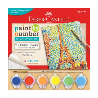 "Faber-Castell Red Line Paint by Number Museum Series ""The Eiffel Tower"" Seurat"