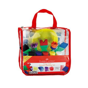 Faber-Castell Red Label Young Artist Texture Painting Set