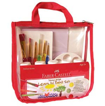 Faber-Castell Red Label Young Artist Learn to Paint Set