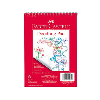 Faber-Castell Red Label Doodling Pad 6x9