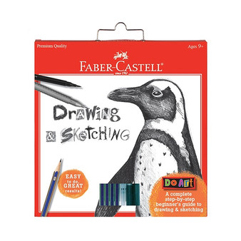 Faber-Castell Red Label Do Art Drawing & Sketching Set