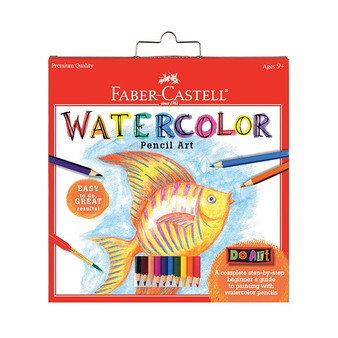 Faber-Castell Red Label Do Art Watercolor Pencil Art Set
