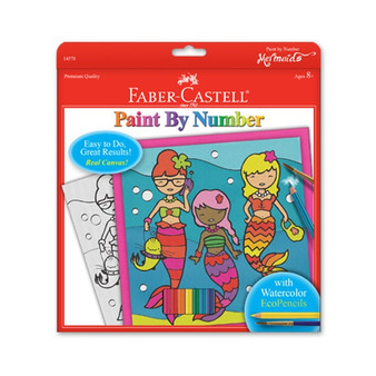 Faber-Castell Red Label Paint by Number Mermaids