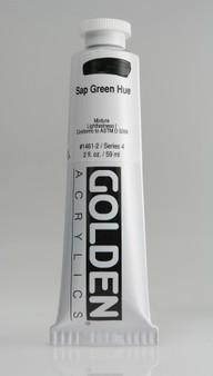 Golden Artist Colors Heavy Body Acrylic: 2oz Historical Sap Green Hue