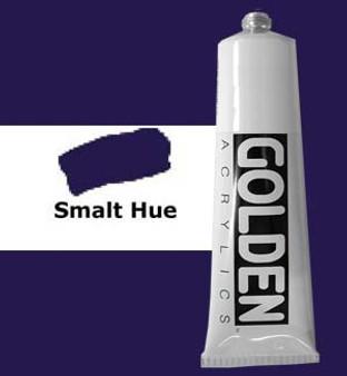 Golden Artist Colors Heavy Body Acrylic: 2oz Historical Smalt Hue