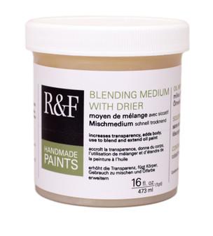 R&F Pigment Stick Blending Medium with Drier 16oz Jar